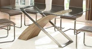 round glass and oak dining table perfect oak dining table exclusive zest oak and glass