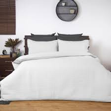 quilt sets white quilted duvet cover with square big bedding than 6 rectangle square white