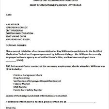 Letter Of Recommendation From Employer To College Employer Recommendation Letter Sample 9 Examples In Word Pdf
