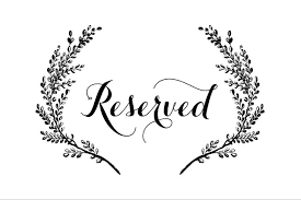 reserved sign templates reserved seating signs template reserved seating sign template 94814