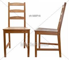 Wooden chair side Light Wood Royaltyfree Stock Photo Wooden Chair Over White Mediafocus Wooden Chair Over White Stock Photo Vk1222718