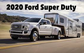Leaked 2020 Ford Super Duty Order Guide Reveals A Crazy High