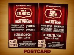Talent Show Flyer Template 8 460 X 690 Carwad Net
