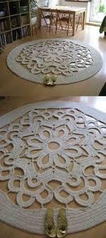 DIY - Tapete em crochê <b>fora</b> do banheiro (com imagens) | Diy tapete ...