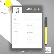 Free Creative Resume Templates Free Creative Resume Templates Microsoft Word Awesome Resume 34