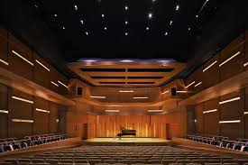 Performance Hall Design Utah State University The Caine Performance Hall