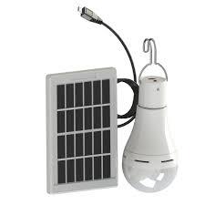 Power Outage Light Bulbs Led Energy Saving Lamp Solar Power Outage Emergency Light