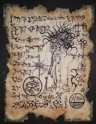 cthulhu art dream song hp lovecraft occult art book stuff dark art tattoo art lovecraftian horror larp