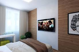 modern bedroom feature wall