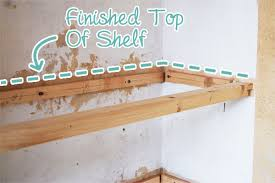 How To Build Floating Shelves In An Alcove Inspiration DIY Floating Shelves Little House On The Corner