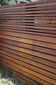 Small Picture Look Modern Fence Horizontal fence Modern architecture and