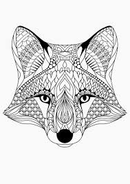 Coloring For Adults Love This Little Fox Adultcolouring Avec Et