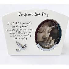 confirmation day photo frame lovely gift