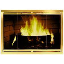 Custom Fireplace Door - Glass Fireplace Doors - Custom Hearth Door ...