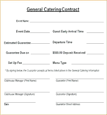 Catering Contract Template Awesome Template Plumbing Bid Proposal Template Catering Worksheet And