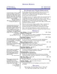 Flight Attendant Resume Templates Best Of Flight Attendant Resume Template Musiccityspiritsandcocktail