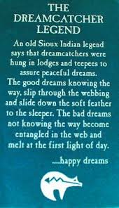 Dream Catcher Definition beautiful story to read to kids then hang a dreamcatcher in 10