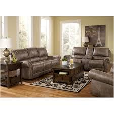 Ashley Furniture Oberson Gunsmoke Reclining Sofa