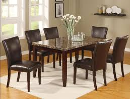 seven piece dining set:  cm
