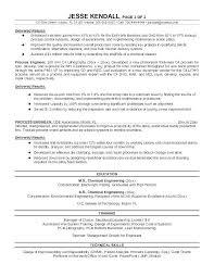 Mechanical Design Engineer Resume Samples Automotive Designer Sample Resume Podarki Co