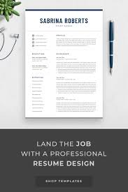 Resume Template Professional Resume Cv Template Modern