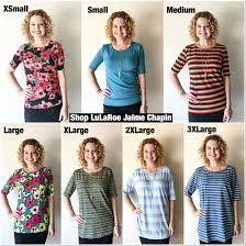Classic Tee Lularoe Size Chart Lularoe Size Chart Gigi Www Bedowntowndaytona Com