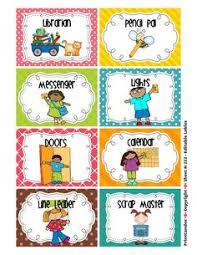 Preschool Job Chart Clipart 4 Clipart Station