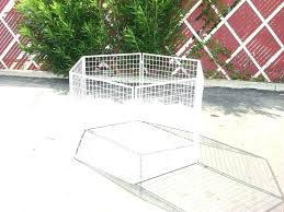 dog fence outdoor portable expandable gates diy