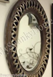 Small Picture Large 45 CELTIC KNOT Round Wall Mirror Silver Gold Circle Twisted
