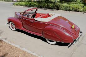 lincoln zephyr for hemmings motor news 1939 lincoln zephyr convertible coupe spectacular see video