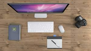 office work desk. Desk Computer Work Table Technology Office Lighting Modern Brand Design Job Multimedia Screenshot