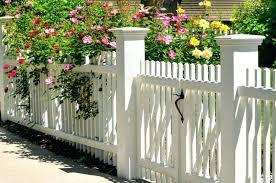 Picket Fence Designs Picket Fence Gate Design Picket Fence Designs