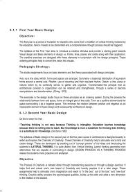 What Is Basic Design Of The Study Basic Design Studio An Ongoing Research Pdf Free Download