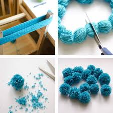 the easiest ever yarn pom poms diy tutorial fluffy pom poms are so cute