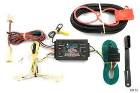 rav4 trailer wiring curt mfg trailer wiring kit 2007 toyota rav4 trailer wiring harness