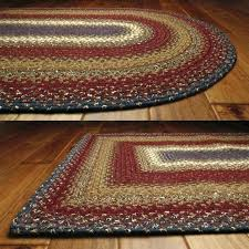 cotton braided rug oval cotton braided rugs made in usa