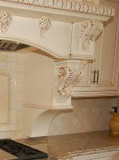 wood corbels for kitchen cabinets