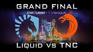 liquid vs tnc grand final starladder 2017 highlights dota 2 games