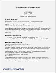 Resume Sample For Medical Office Assistant With No Experience