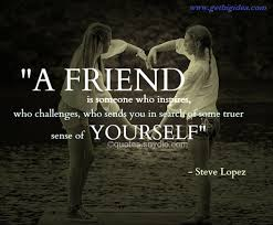 Meaningful Quotes About Friendship Cool The Best 48 Meaningful Quotes About Friends Friendship Day