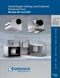 ceiling exhaust and inline cabinet fans 1 24 pages