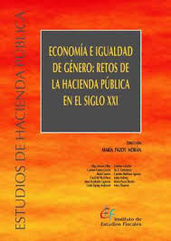 Resultado de imagen de ief publicaciones imagen economía e igualdad de género. retos de la hacienda pública portada