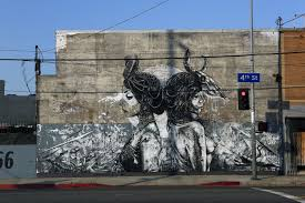 on wall mural artist los angeles with l a freewalls mural project los angeles times