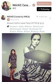 maiko m a makeup artist based in tokyo an