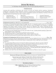 Loan Officer Resume Sample Fishingstudio Com