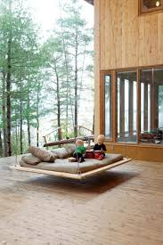 13 comfy outdoor swing bed designs rilane intended for ideas 3