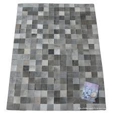 grey patchwork cowhide rug rugs 8 x 10 rug company inspired flooring cowhide patchwork
