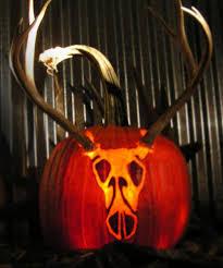 Hunting Pumpkin Carving Pattern Interesting Design Inspiration