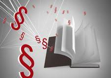 3d section symbol icons and book turning pages royalty free stock image
