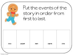 Gingerbread Man Sequencing Worksheet Free Worksheets Library ...